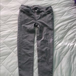 AMERICAN EAGLE grey jeans size 0
